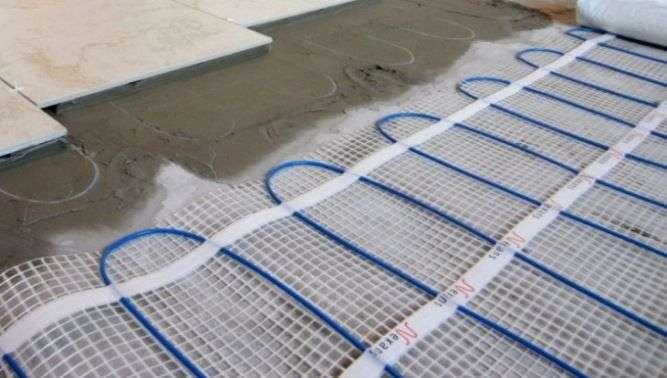 Теплый пол под бетон купить калькулятор керамзитобетона для пола